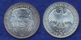 BRD 5 DM 1967 Humboldt - [ 7] 1949-… : FRG - Fed. Rep. Germany