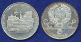 Sowjetunion 5 Rubel 1977 Minsk Ag900 - Russia