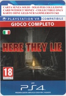 Game Card Italy PlayStation 2016 Here They Lie - Gift Cards