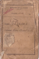 Lot Livret Militaire + Fascicule Mobilisation Guerre 14-18 Soldat 2 Eme Classe Teyssieu Lot Carte Adherent Combattants - Documents