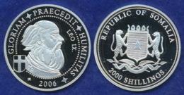 Somalia 2000 Sh. 2006 Leo IX. Ag999 20g - Somalia