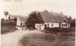 FRANQUENéE   Rue Du Pont. Carte Photo - Eghezée