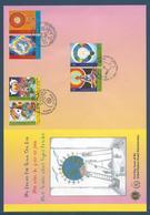 Nations Unies FDC - Premier Jour - Grand Format - Rêve De Paix - Emissions Communes - 2005 - Gezamelijke Uitgaven New York/Genève/Wenen