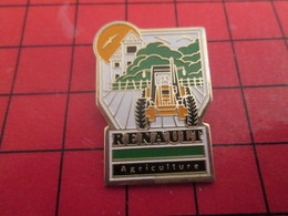 SP15 Pins Pin's / Rare & De Belle Qualité  THEME : AUTOMOBILES / RENAULT AGRICULTURE TRACTEUR - Renault