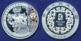 China 10 Yuan 2008 Teepause Ag999 1oz - China