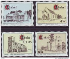 D90819 Ciskei South Africa 1993 CHURCHES MISSIONS RELIGION MNH Set - Afrique Du Sud Afrika RSA Sudafrika - Ciskei