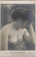 CPA - Paul De PLUMENT - Pensive (portrait De Femme) - Edition ND. Photo - Pintura & Cuadros