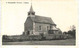 TAVIERS    L' église. - Eghezée