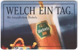 GERMANY K-Serie A-341 - 1301 09.93 - Advertising, Drink, Beer - MINT - K-Series : Serie Clientes