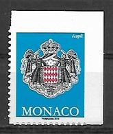 """Monaco 2019 -  Yv N° 3189 ** - Timbre Du Carnet ''écopli"""" - Monaco"""