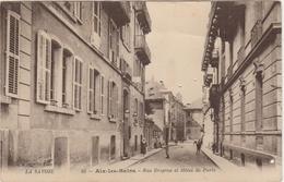 Savoie . Aix-les-Bains . Rue Despine Et Hôtel De Paris . - Aix Les Bains
