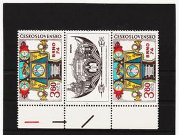 Post321 TSCHECHOSLOWAKEI CSSR 1974 MICHL 2184 B Zf ** Postfrisch SIEHE ABBILDUNG - Tschechoslowakei/CSSR