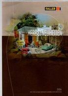 Catalogue FALLER Herbstneuheiten 2006 - Catalogues & Prospectus