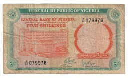 Nigeria 5 Shillings 1968 - Nigeria