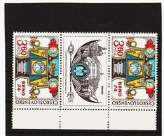 Post322 TSCHECHOSLOWAKEI CSSR 1974 MICHL 2184 B Zf ** Postfrisch SIEHE ABBILDUNG - Tschechoslowakei/CSSR
