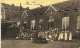 TAVIERS    école Des Soeurs De Charité.( Tâche à L' Arrière) - Eghezée