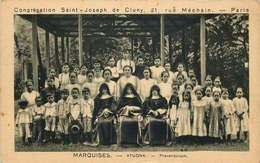 POLYNESIE FRANCAISE MARQUISES  ATUONA  Congrégation Saint Joseph - Polynésie Française