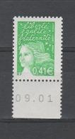 FRANCE / 2002 / Y&T N° 3448 ** AVEC PHO : Luquet 0.41€ De Feuille Gommé BdF - Gomme D'origine Intacte - Neufs