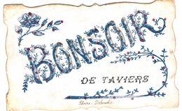 TAVIERS   Bonsoir De Taviers - Eghezée