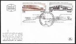 1974 - ISRAEL - FDC + Michel 613+615 + JERUSALEM - FDC