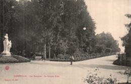 54 LUNEVILLE LES BOSQUETS LA GRANDE ALLEE CIRCULEE - Luneville