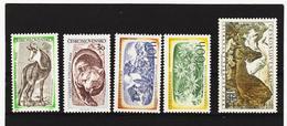 Post193 TSCHECHOSLOWAKEI CSSR 1957 MICHL 1035/39 ** Postfrisch SIEHE ABBILDUNG - Tschechoslowakei/CSSR