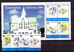 Serie Nº 5223/6 + Hb Guyana - Guyana (1966-...)