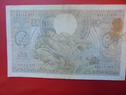 BELGIQUE 100 FRANCS 1939 CIRCULER - 100 Francs & 100 Francs-20 Belgas