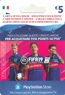 Game Card Italy PlayStation 2018 FIFA19_5 - Gift Cards