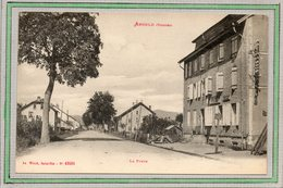 CPA - ANOULD (88) - Aspect Du Quartier De La Poste Dans Les Années 20 - Ad. Weick - Anould