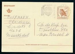 "BELGIE - Briefkaart 14 F Type BUZIN - Cachet ""RONSE-1-RENAIX"" + Vlag/flamme ""LION'S CLUB"" - (ref. CP 1496) - Stamped Stationery"