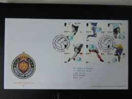 GB 2006 FDC - World Cup Winners Balls Park Postmark First Day Cover Sport Football - FDC