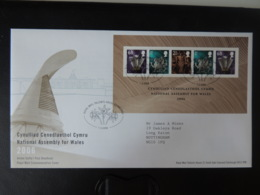 GB 2006 FDC - National Assembly Wales Tallents Postmark First Day Cover Constitutions - FDC