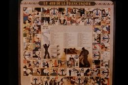 Photo Diapo Diapositive Slide Histoire Vichy 1940 1944 N°4 Jeu De La Francisque Jeu De L'oie Propagande VOIR ZOOM - Diapositivas