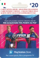Game Card Italy PlayStation 2018 FIFA19_20 - Gift Cards