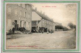CPA - ANOULD (88) - Aspect Des Bâtiments De La Poste Et Du Marchand De Vins En Gros (barriques)- 1917 - Anould