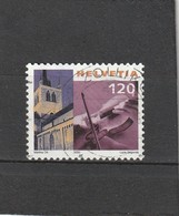 Suisse Oblitéré  2000  N° 1654A  Violon Et Détail Clocher D'église - Oblitérés