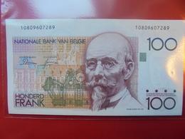 BELGIQUE 100 FRANCS 1982-1994 PEU CIRCULER TRES BELLE QUALITE - 100 Francs