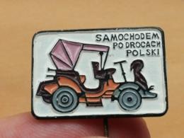 List 105 - TATRA, AUTO CAR OLDTIMER, PRODUCED IN POLAND - Pin's