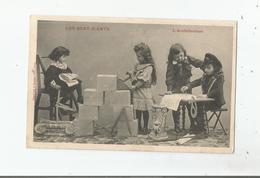 LES QUAT-Z-ARTS (GADZ'ARTS ) L'ARCHITECTURE CARTE FANTAISIE BERGERET 1907 - Schools