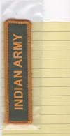 (T 3) Écusson Tissu Militaire Ou Autre  (Format   Hauteur 2.8  Largeur 11) - Ecussons Tissu