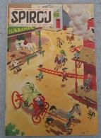 Spirou N° 943 Du 10 Mai 1956 : Spirou, Lucky Luke, Loup Blanc, Buck Danny Contre Lady X... - Spirou Magazine