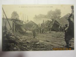 Cpa AILLY SUR SOMME (80) Catastrophe Le 11 Juillet 1906 - Autres Communes