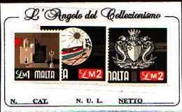1543) MALTA SERIE ORDINARIA 1£ +2£+2£ - MNH** - Malta