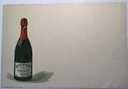 """1895 5Pf Privatpostkarte """"CHAMPAGNE SPORTSMAN ST LOUIS ALSACE""""(entier TSC Vin Wine Sekt Deutsches Reich PP Ganzsache - Stamped Stationery"""