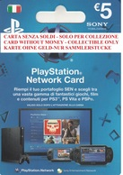Network Card Italy PlayStation 2012_5 - Gift Cards