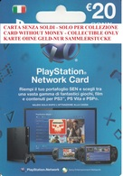 Network Card Italy PlayStation 2012_20 - Gift Cards
