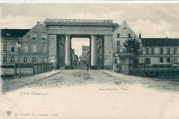 ALLEMAGNE / DEUTSCHLAND - Greifswald : Steinbecker Tor - Greifswald