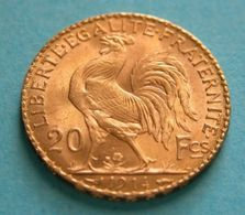 FRANCE - 20 Franchi Marianne  Gold 1914   Gold Oro - Oro
