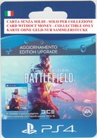 Game Card Italy PlayStation 2018 Battlefield V - Gift Cards